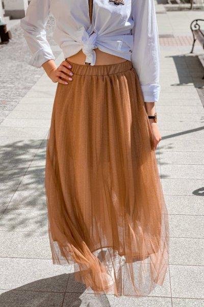 Spódnica plisowana tiul 4