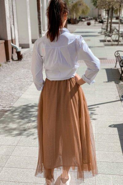 Spódnica plisowana tiul 5