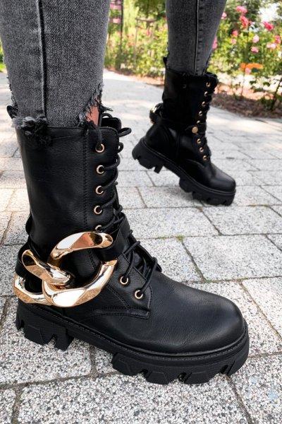 Workery rock łańcuch Black
